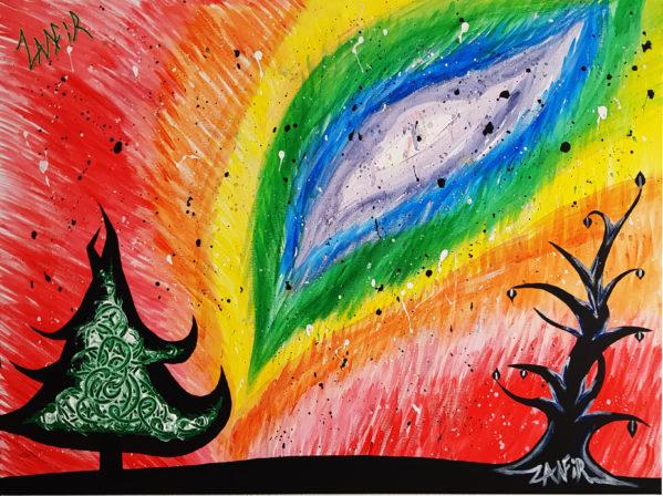 Big Bang By Zamfir original art
