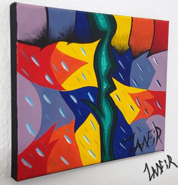 The Bright Side by Zamfir, original canvas art, original art, zamfir