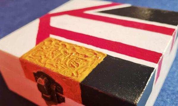 Nigel Mansell Red 5 Box